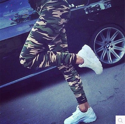 Trendy Camo Stylish Print Leggings