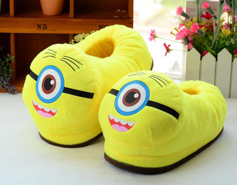 Womens Cute Plush Soft Slipper House Shoes