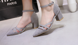 Womens Stunning Close Toe Work Heels