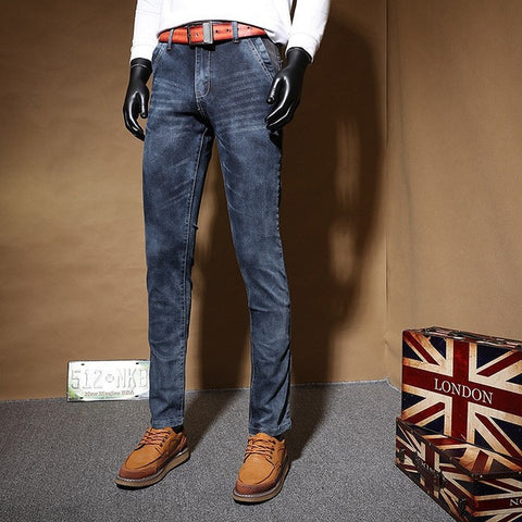 Mens Fadded Wash Jeans