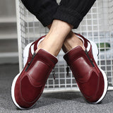Mens Side Zipper Sneakers