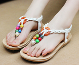 Womens Hip Lovely Casual Bead Sandals