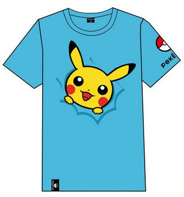 Pokemon Go Cute Screen Print Short Sleeve T-Shirt