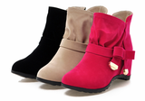 Womens Lovely Wedge Heel Boots