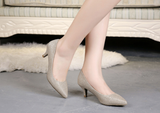 Womens Classic Chic Low Heels