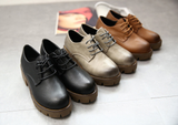 Womens Trendy Oxford Casual Boots