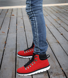 Mens Cool Casual High-Top Trendy Boots