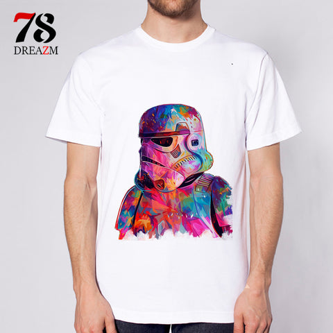 Mens Summer Fashion Star Wars T Shirt Tee