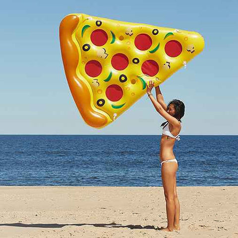Inflatable Pizza Swimming Floats Water Donut Pool Toy
