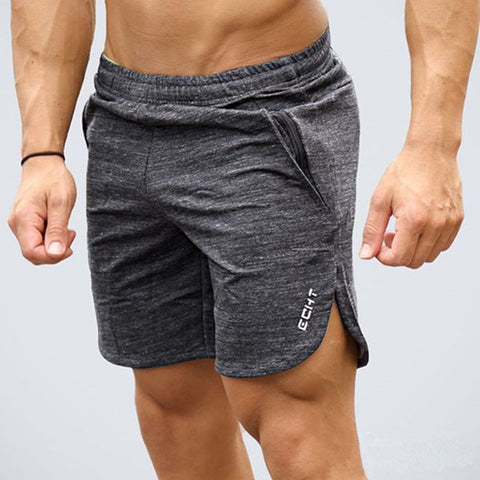Mens Calf-Length Fitness Bodybuilding Casual Workout Shorts