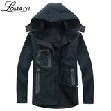 Mens Shark Skin Softshell Coat Winter Warm Fleece Waterproof Windbreaker Active Rain Jacket