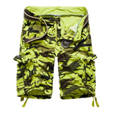 Mens Hot Casual Summer Camouflage Camo Cotton Cargo Shorts