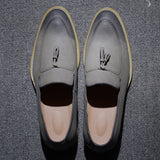 Mens Pointed Toe Dress Wedding Tassel Footwear Formal Fashion Oxfords Shoes