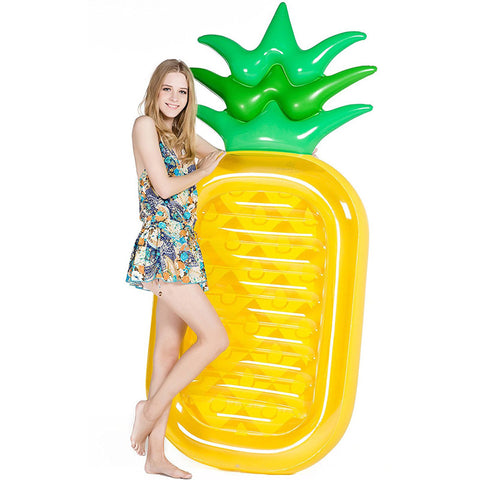 Pineapple Swimming Float Mattress Water Gigantic Pool Inflatable Floatie