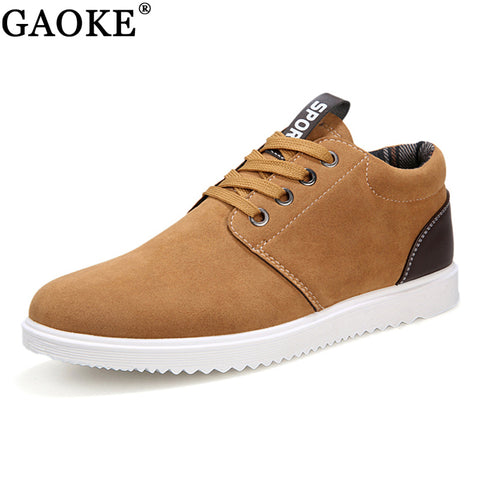 Mens Casual Leisure Winter Lace Up Sneaker Boot Shoe