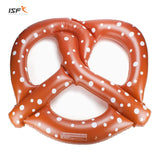 Giant Pretzel Summer Party Swim Pool Floats Air Mattress Inflatable Clircle Pool Floatie