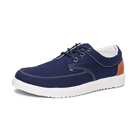 Mens Cool Fashion Canvas Outdoor Low Leisure Shoes