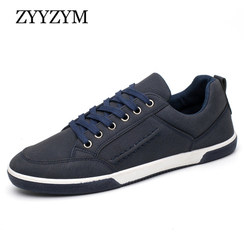 Mens Retro Lace Up Style Casual Shoes Ventilation Fashion Trend Sneakers