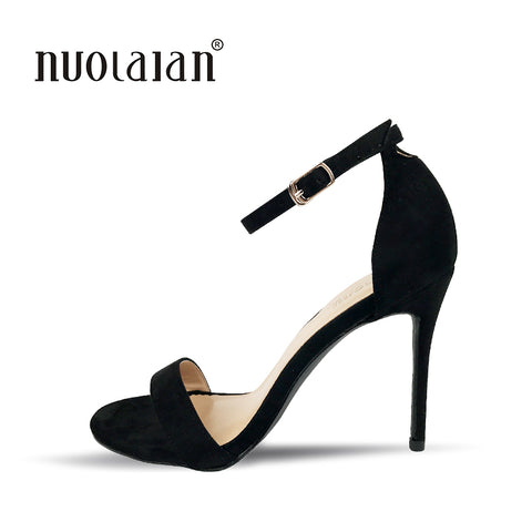 Womens Pumps Celebrity Wearing Simple Style Sexy Thin Sandal High Heels