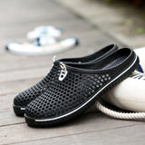 Mens Sandal Fashion Summer Breathable Beach Slip On Casual Shoes