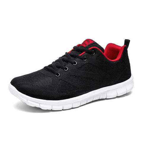 Mens Running Athletic Trainer Cushioning Outdoor Breathable Fitness Sneaker