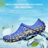 Mens Casual Sandals Fashion Plastic Toe Protect Summer Beach Comfortable Water Shoes
