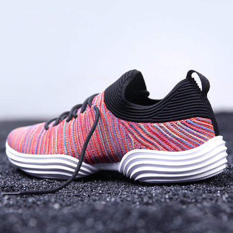 Mens New Breathable Mesh Running Summer Colorful Walking Lightweight Sneakers