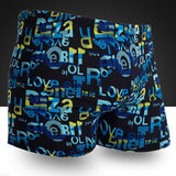 Mens Multi Print Swimming Swimwear Swim Sport Briefs Swimsuit Beach Shorts Trunks