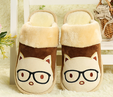 Mens Cool Funny House Slippers