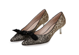 Womens Cute Sparkly Heels