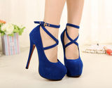 Womens Sexy Party Platform High Heels