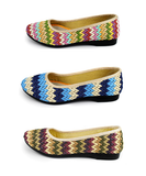 Womens Stylish Woven Casual Flats