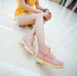 Womens Trendy Casual Ankle Dress Military Boots