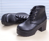 Womens Hot Platform Casual Boots