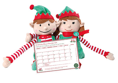 Our 2018 Elf planner for all your Elf antics!