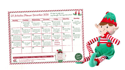 Plan your Elf mischief! It's the 2020 Planner of Elf Antics!