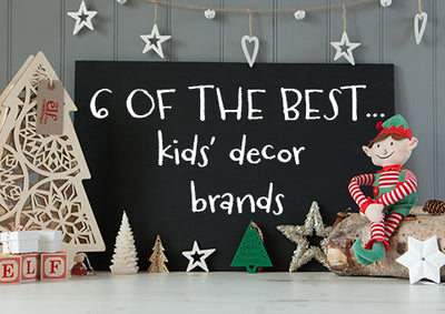 Six of the best: Our favourite independent kids' room décor brands