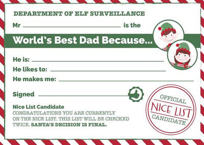 Give Dad the recognition he deserves this Father's Day, with our free printable World's Best Dad certificates