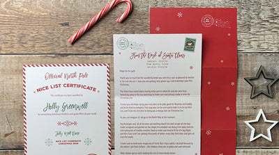 How to choose the perfect Personalised Letter from Santa