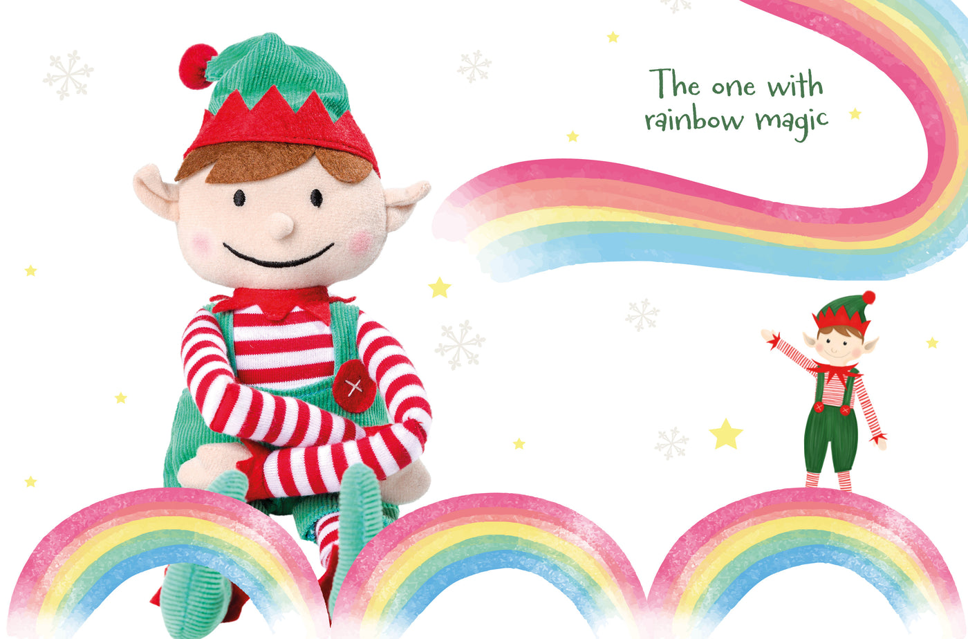 North Pole Rainbow Letter - Pip McJingles