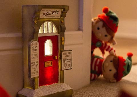 Your Elf-help guide: How to welcome a Christmas Elf through the Elf door
