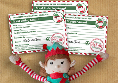 Reward good behaviour with our free Christmas certificates!