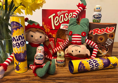 Have a sweet Easter on Elf for Christmas, with our cracking competition!