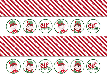 Christmas Elf Paper Chain Activity