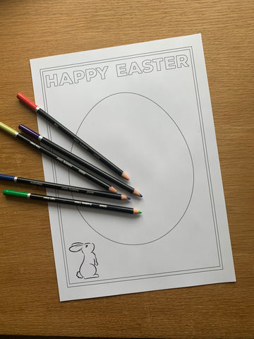 Easter Colouring Pages Printable