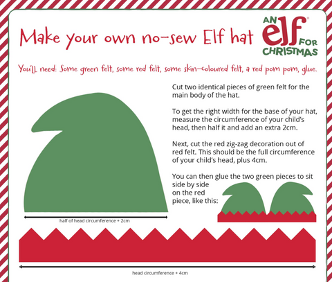 Make Your Own Elf Hat