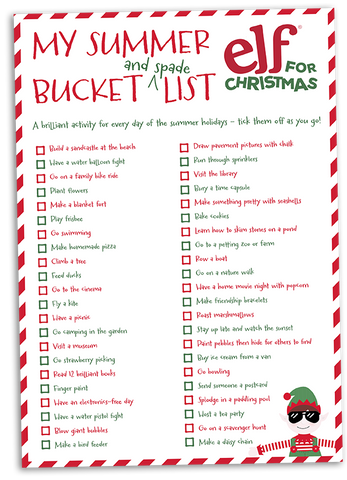 elf_for_christmas_summer_bucket_list