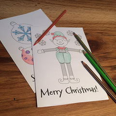 Elf_For_Christmas_colouring_sheets