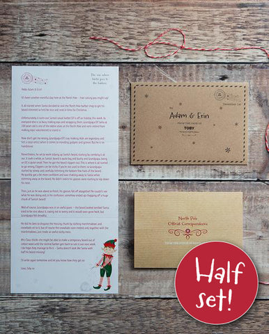 12 Days of Advent Letters – Third Edition Elf Letters (2019)