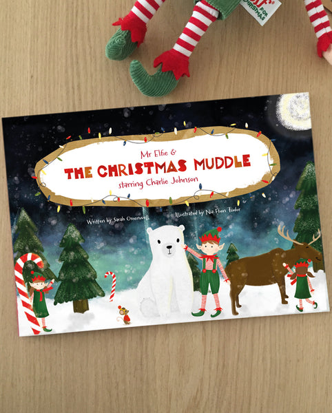 The Christmas Muddle Personalised Story Book - Starring Up To Five Children!